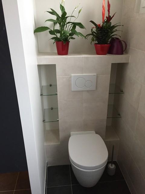 Rénovation d\'une salle de bain et WC dans une maison à Saint ...