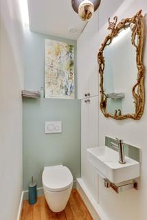 Photos et idées déco de WC et toilettes avec un WC suspendu
