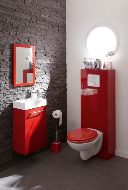 WC ModerneModern Powder Room, Lille
