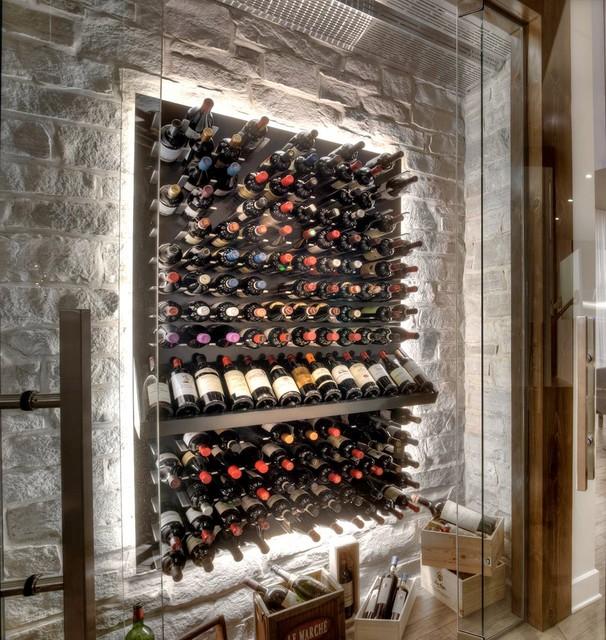 Weinkeller einrichten modern  Glas Weinkeller - Modern - Weinkeller - Odense - von STACT Weinregal
