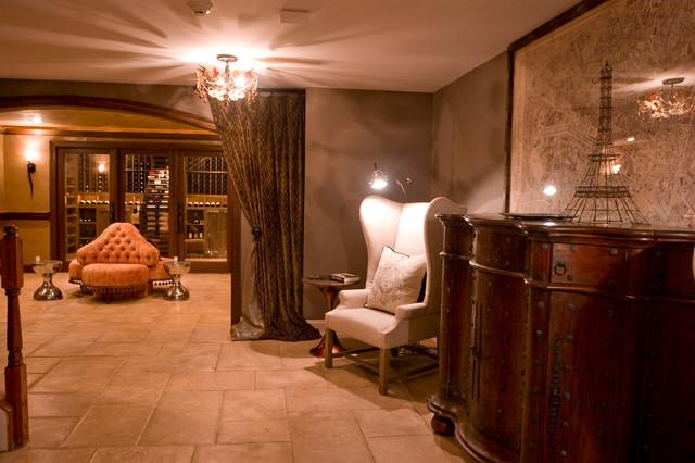 1920's Paris traditional-wine-cellar