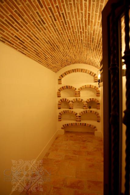 1940's Traditionally Spanish, La Jolla traditional-wine-cellar