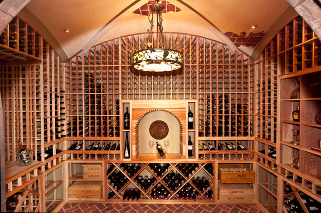 1st floor wine cellar and tasting room for Wine cellar in floor