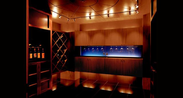 20th Century Style contemporary-wine-cellar