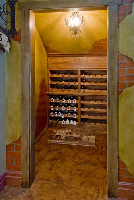 261 Wood Creek traditional-wine-cellar