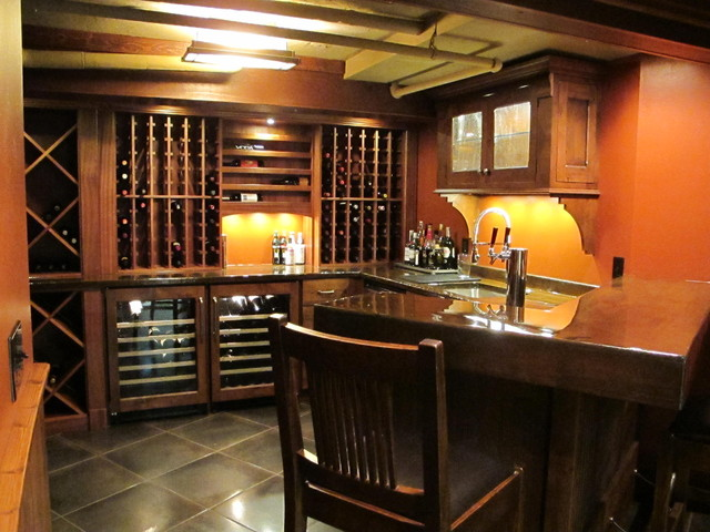 A New Wine Cellar contemporary wine cellar