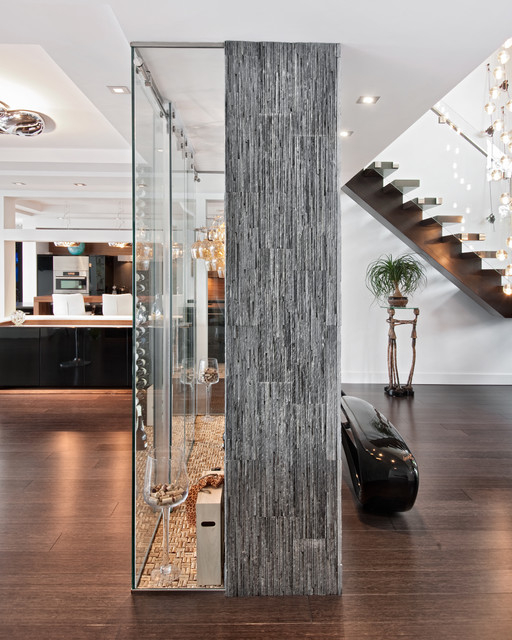 A Passion for Wine - Wine Cellar - Ottawa - by Design First Interiors