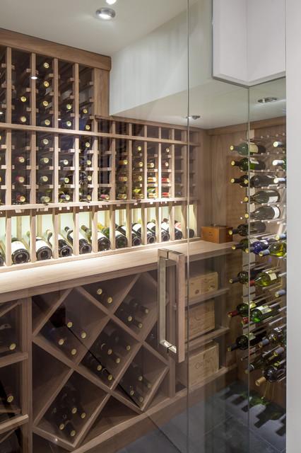 Annex - Contemporary - Wine Cellar - toronto - by Wanda Ely Architect Inc.