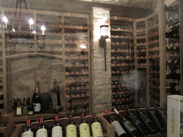 Another View Of This Stunning Wine Cellar Design Naples