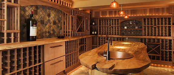 Apex : Classic Collection traditional wine cellar
