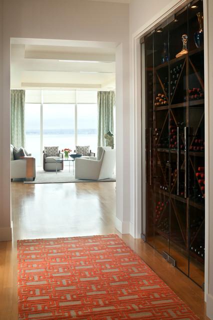 Argyle Residence contemporary-wine-cellar