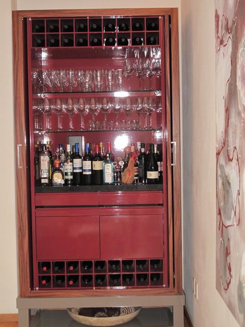 ART LOFT contemporary-wine-cellar