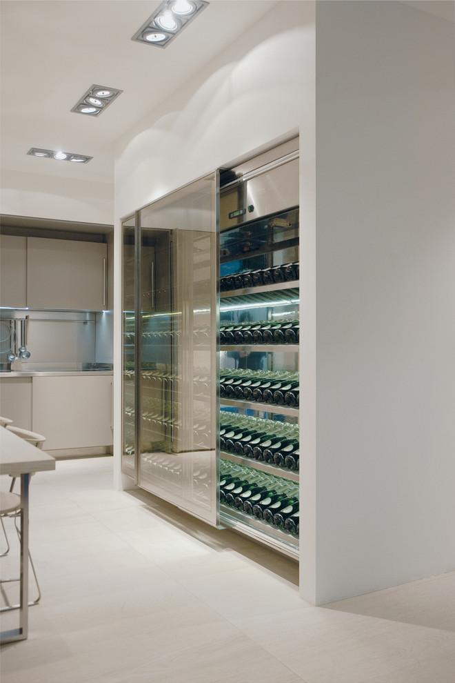 Artusi Outdoor Modern Wine Cellar Boston By