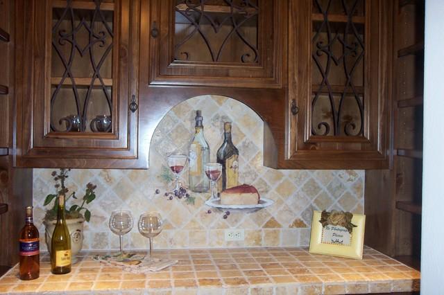 Bars and wine rooms mediterranean-wine-cellar
