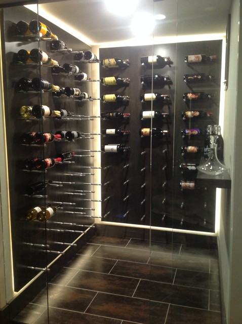Inspiration for a wine cellar remodel in Indianapolis