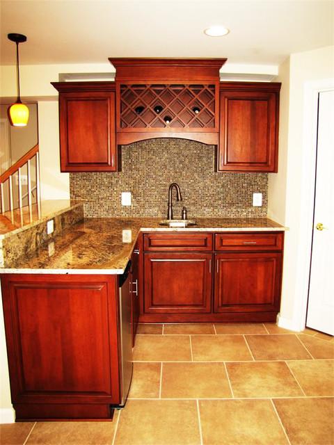Basement Fairfax Va. traditional-wine-cellar