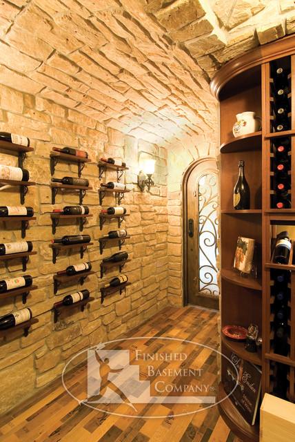 basement wine cellar traditional wine cellar minneapolis by