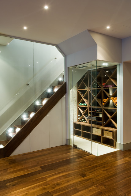 Battersea London Residence - Basement Build contemporary basement
