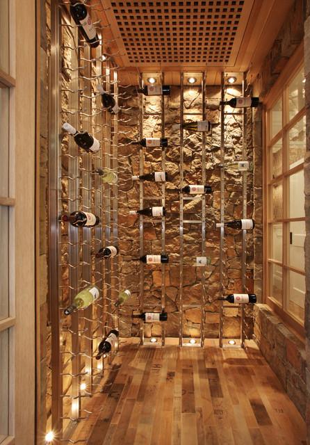 Bayshores Drive Beach Style Wine Cellar Orange