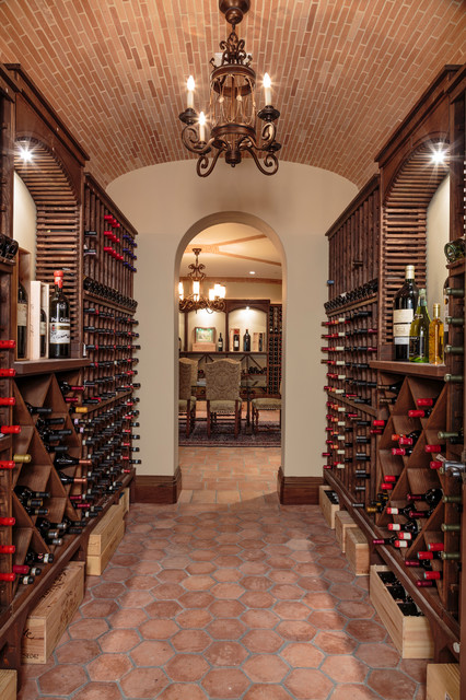 Bel Air Mediterranean Wine Cellar Los Angeles By