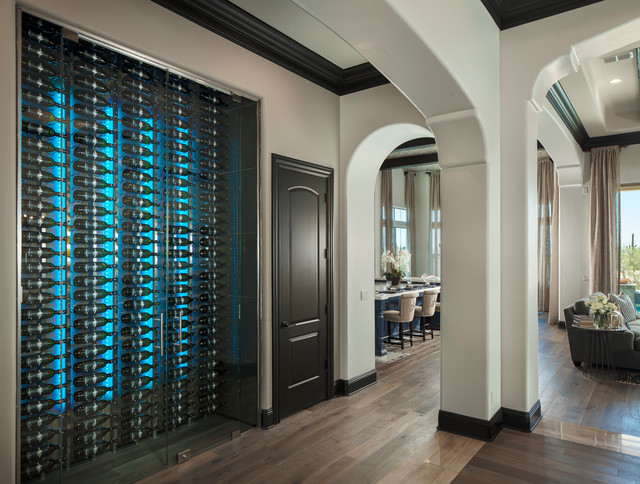 contemporary modern wine cellars. Black Bedroom Furniture Sets. Home Design Ideas