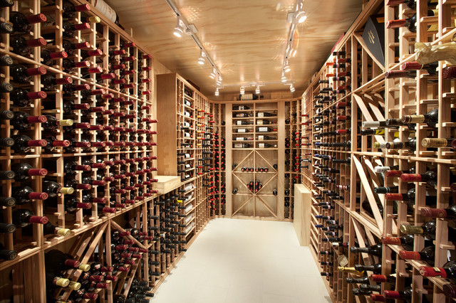 Best Builders ltd contemporary-wine-cellar