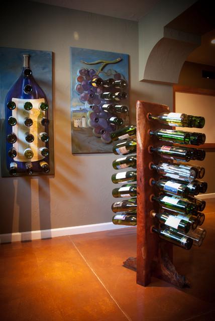 Bottle Bing Custom Art contemporary-wine-cellar