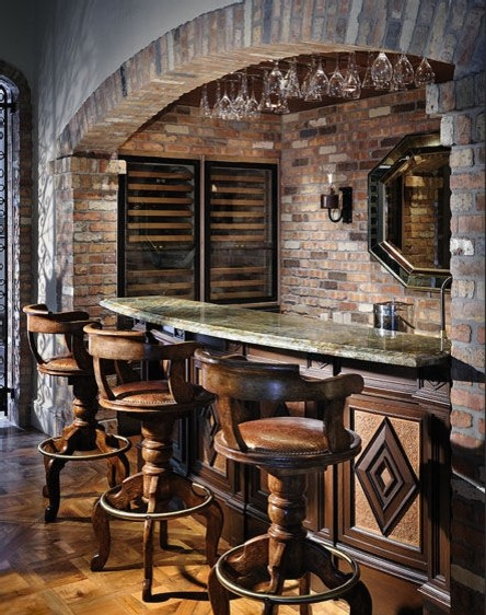 bourbon bar traditional wine cellar