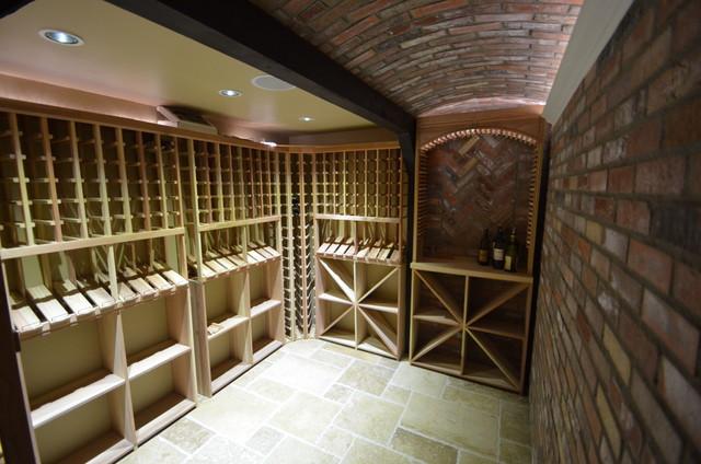 Broadmoor Residence Renovation traditional-wine-cellar
