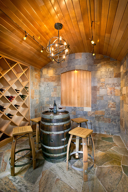 New Mood Design mediterranean-wine-cellar