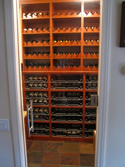 California closets dfw wine cellar dallas by for Closets by design dallas
