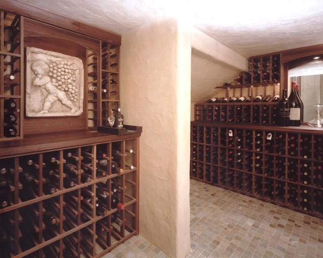 Cambridge Dr. traditional-wine-cellar