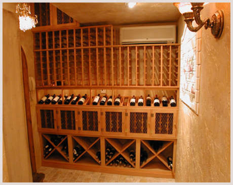 Cave a Vin Design contemporary-wine-cellar