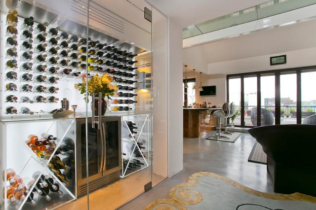 Wine cellar - wine cellar idea in London