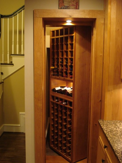 CellarMaker - Hidden Wine Cellar Door traditional-wine-cellar & CellarMaker - Hidden Wine Cellar Door - Traditional - Wine Cellar ...