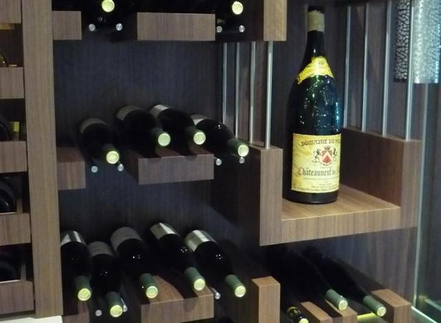 Cellars contemporary-wine-cellar