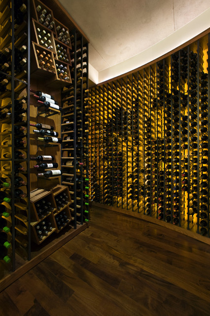 CH portfolio contemporary-wine-cellar