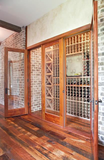 Chateau de Charleston traditional-wine-cellar