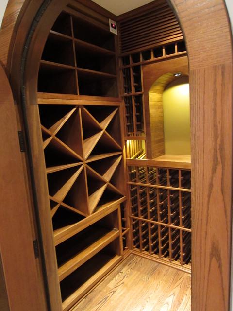 Closet Wine Cellar Design traditional-wine-cellar & Closet Wine Cellar Design - Traditional - Wine Cellar - Dallas - by ...