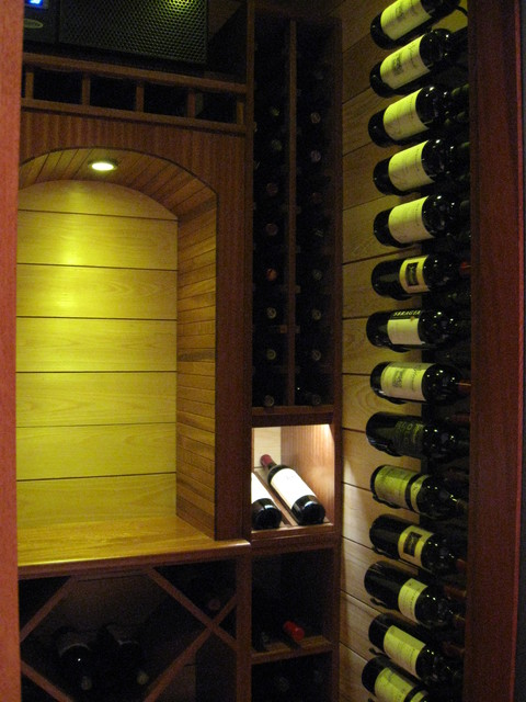 Closet Wine Cellar contemporary-wine-cellar