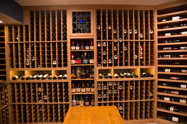 Collector's Showcase - Traditional - Wine Cellar - dc ...