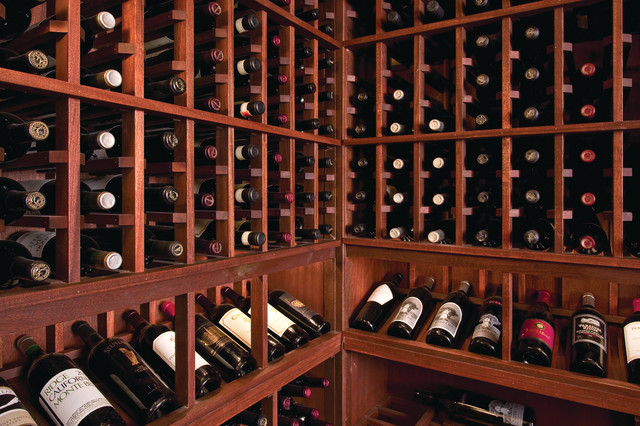 Colonial House traditional-wine-cellar