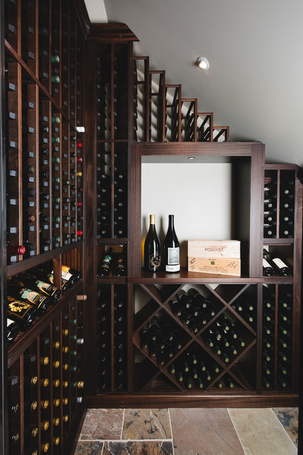 Compact Wine Cellar traditional-wine-cellar & Compact Wine Cellar - Traditional - Wine Cellar - Atlanta - by ...
