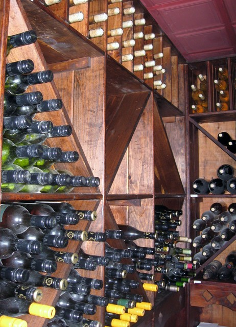Complete Home Construction 3 traditional-wine-cellar