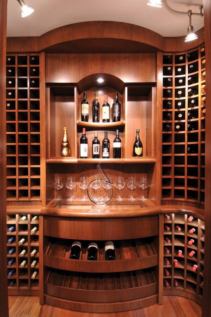 Complete Home - The Ocean Boulevard contemporary-wine-cellar