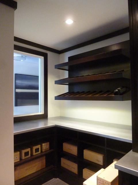 Contemporary Flair - Contemporary - Wine Cellar - New York - by Design ...