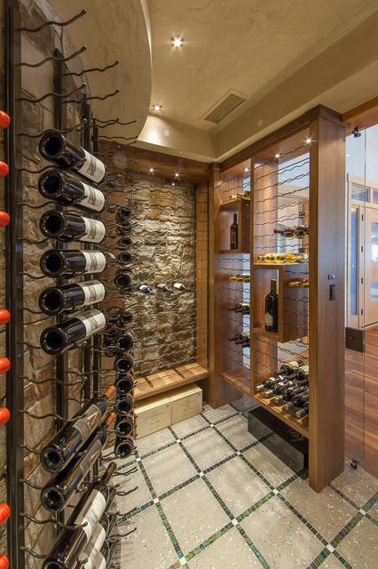 Contemporary Spaces contemporary-wine-cellar