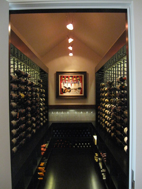 Contemporary Wine Cellar contemporary-wine-cellar & Contemporary Wine Cellar - Contemporary - Wine Cellar - Other - by ...