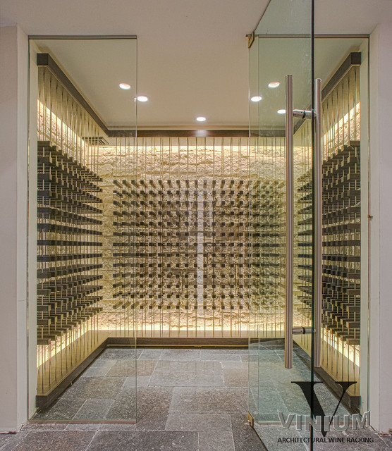 Vinium Series Architectural Wine Racking Contemporary