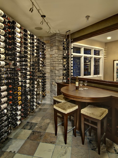 Contemporary Wine Room contemporary-wine-cellar